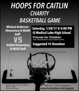 Hoops for Caitlin @ Medical Lake High School
